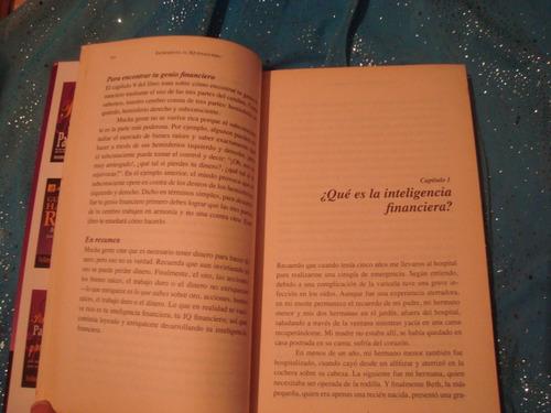 libro incrementa tu iq financiero por robert kiyosaki
