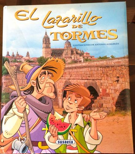 libro infantil  el lazarillo de tormes