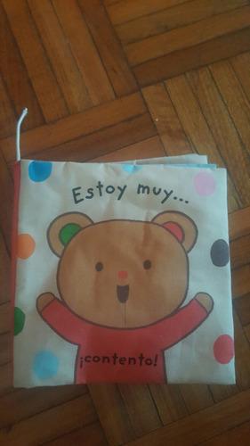 libro infantil estoy muy...¡contento!