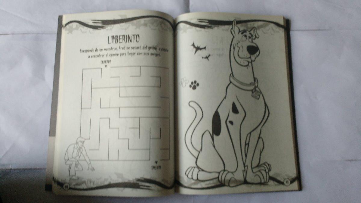Libro Infantil Para Colorear Scooby-doo 100 Paginas - $ 210,00 en ...