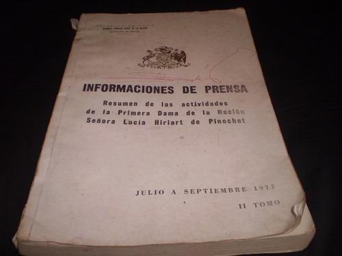 libro informaciones de prensa tomo 2 julio a sept de 77(r539