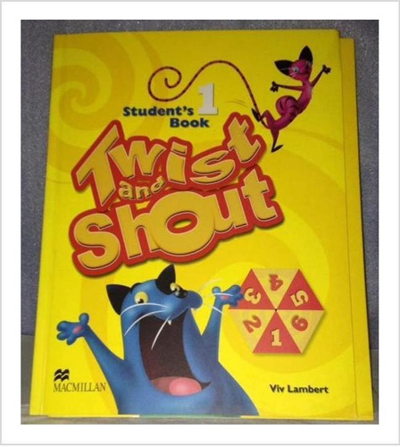 libro  inglés 1er grado twist and shout  cd libro de tareas