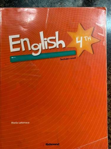 libro inglés 4to maria latorraca