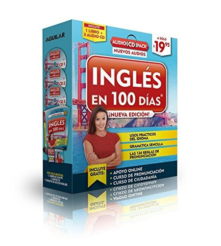 libro : ingles en 100 dias - audio pack (paperback book +...