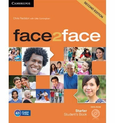 libro ingles face2face starter second edition cambridge dvd
