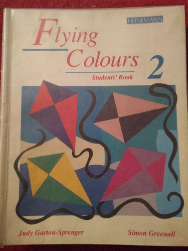 libro ingles flying colours 2 (students' book & workbook)