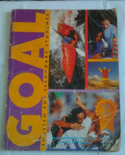 libro ingles goal 3no grado mc. graw-hill manuel dos santos