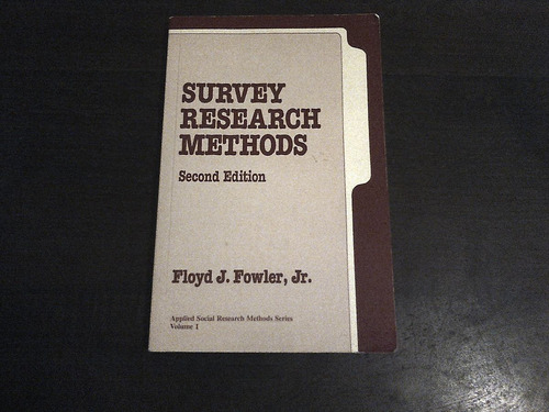 libro inglés invest. de mercado survey research methods