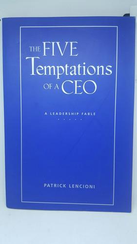 libro ingles, las cinco tentaciones de un ceo,