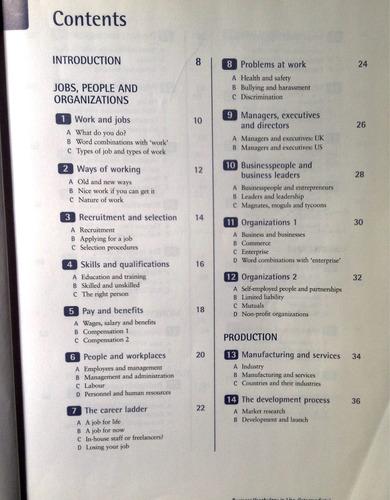 libro inglés profesional de negocios cambridge
