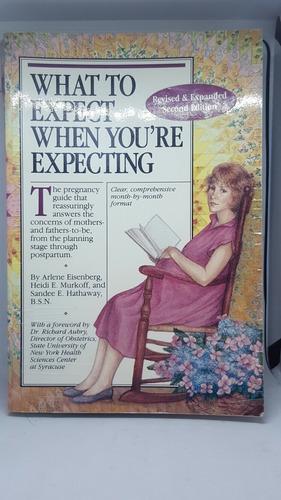 libro inglés que esperar cuando estas esperando pasta blanda