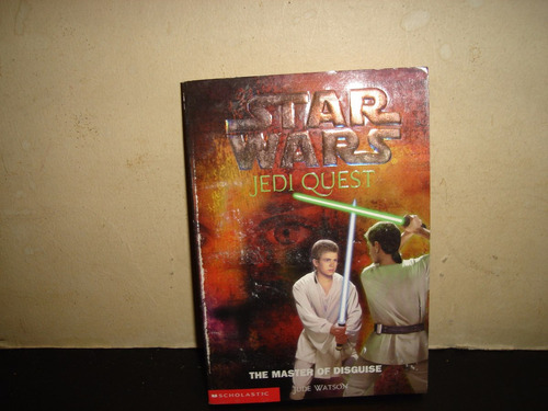 libro inglés - star wars, jedi quest, the master of disguise