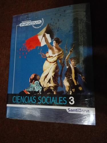 libro innova - ciencias sociales 3 secundaria (santillana)