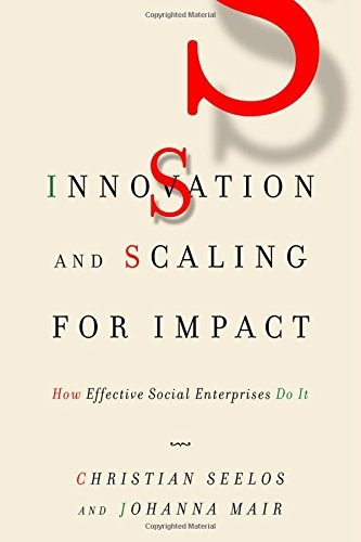 libro innovation and scaling for impact: how effective socia