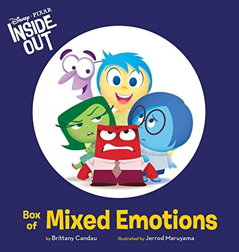 libro inside out box of mixed emotions - nuevo