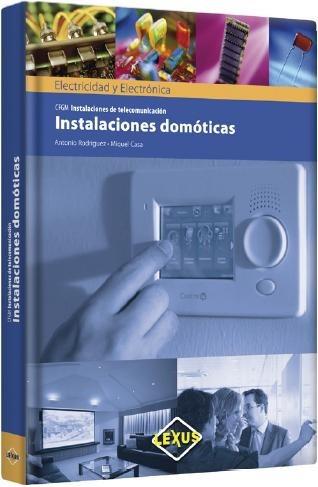 libro instalaciones domoticas de telecomunicacion