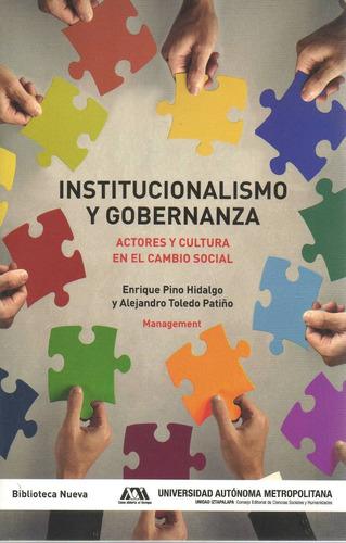 libro: institucionalismo y gobernanza ( management)