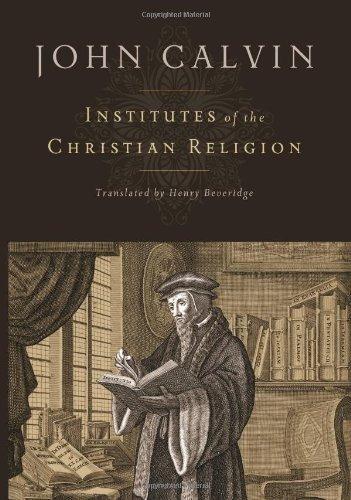 libro institutes of the christian religion - nuevo