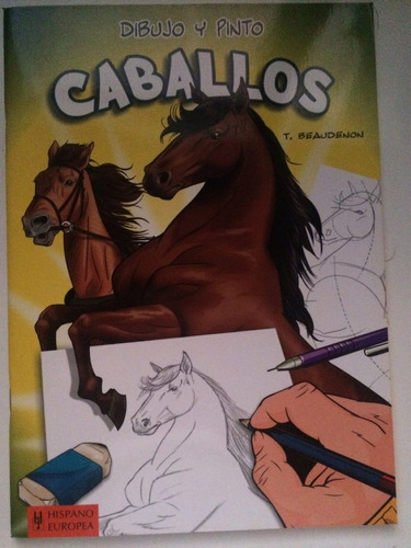 libro instructivo para dibujar caballos