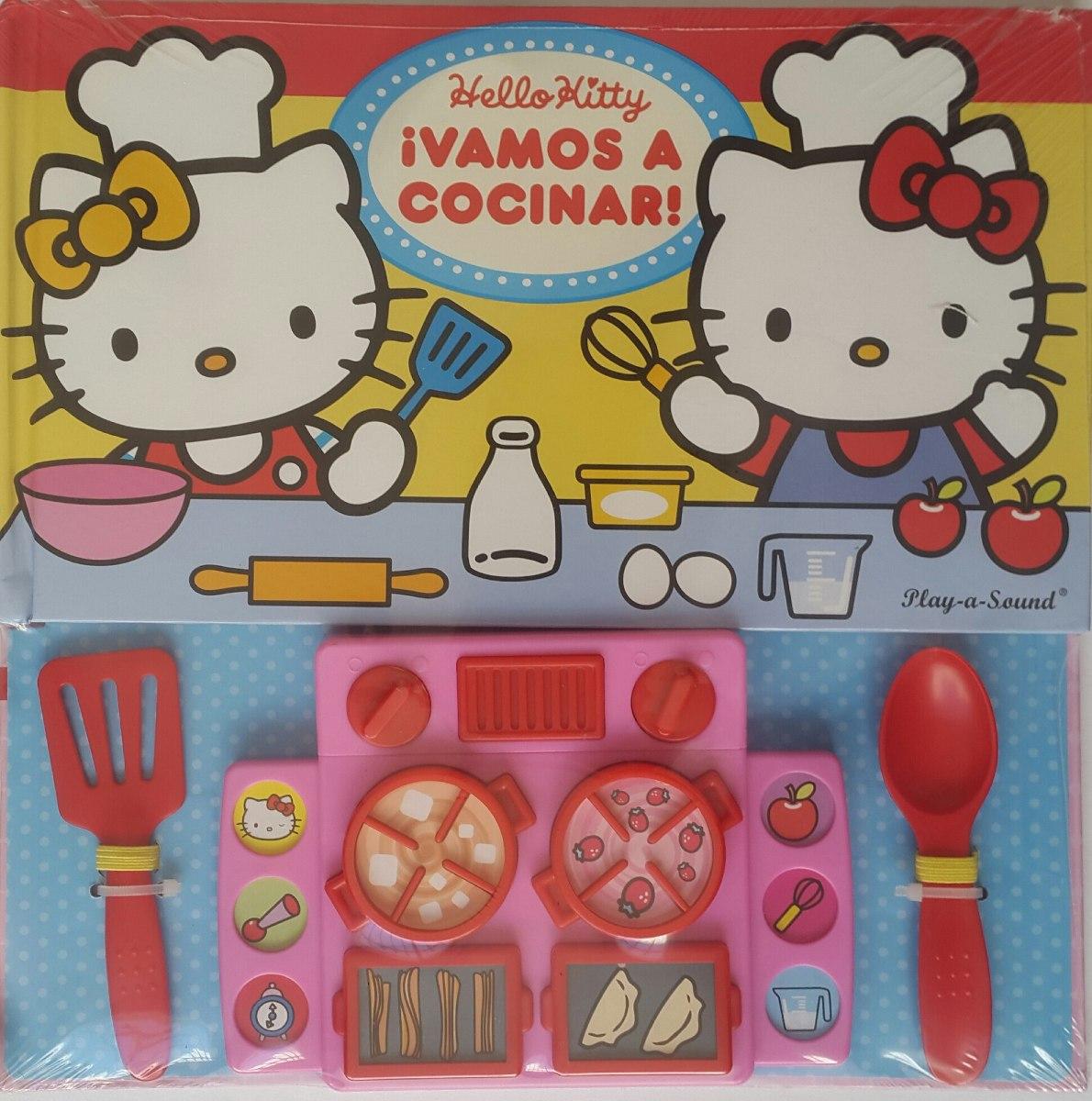 Charming Libro Interactivo Hello Kitty Vamos A Cocinar. Cargando Zoom.