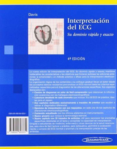 libro interpretación del ecg: su dominio rápido y exacto