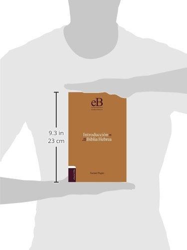 libro introducción a la biblia hebrea - nuevo
