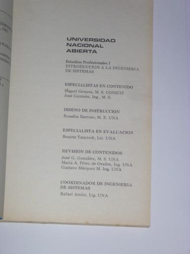 libro introduccion a la ingenieria de sistemas una