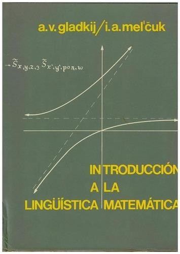 libro, introducción a la lingüística matemática de gladki