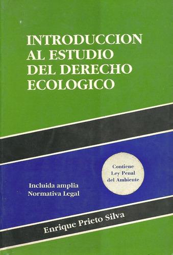 libro introducción al estudio del derecho ecológico