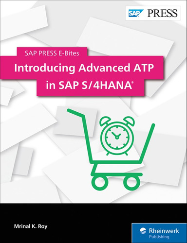 libro introducing advanced atp in sap s/4hana