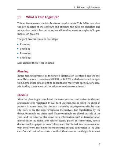 libro introducing sap yard logistics