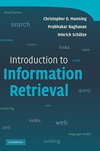 libro introduction to information retrieval - nuevo