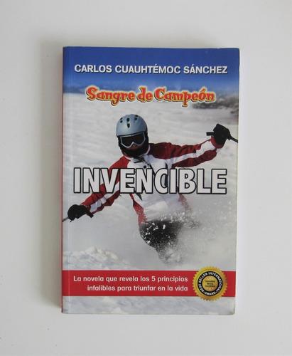 libro invensible: sangre de campeón