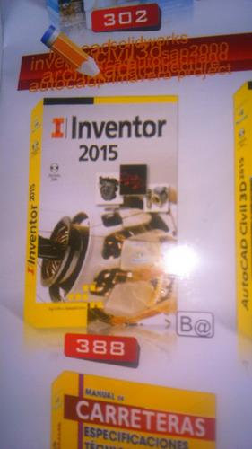 libro inventor 2015 62 soles