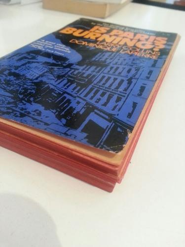 libro is paris burning?/larry collins,dominique lapierre