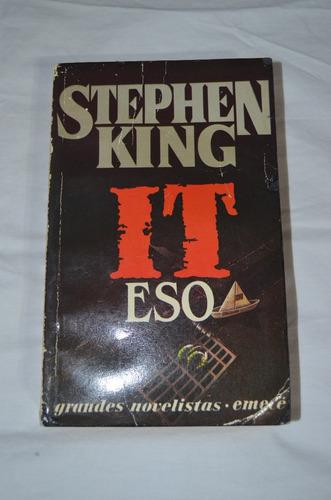 libro it (eso) stephen king