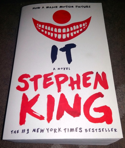 libro it stephen king idioma ingles (nuevo)