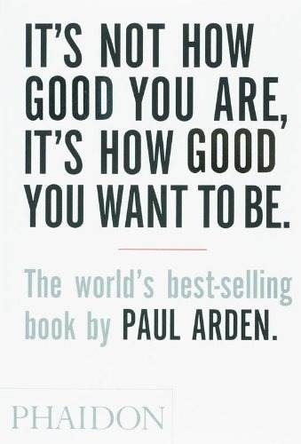 libro it's not how good you are, it's how good you want to b