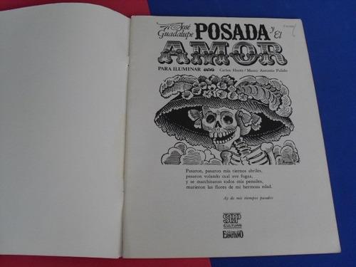 libro j. guadalupe posada y el amor, 1984