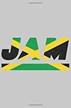 libro - jam: jamaika notizbuch mit blanko 120 seiten in weiß