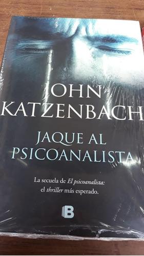 libro jaque al psicoanalista - john katzenbach. nuevo