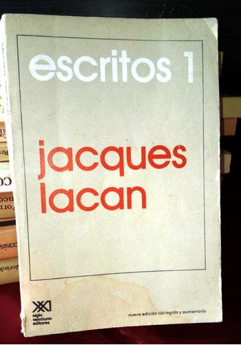 libro jaques lacan escritos 1