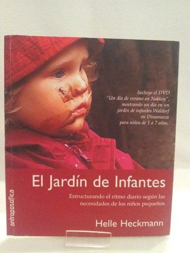 libro jardín de infantes antroposófica h. heckmann sin dvd