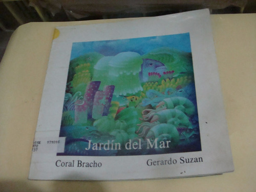 libro jardin del mar , coral bracho  , año 1993