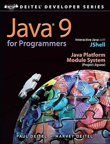 libro java 9 for programmers - nuevo