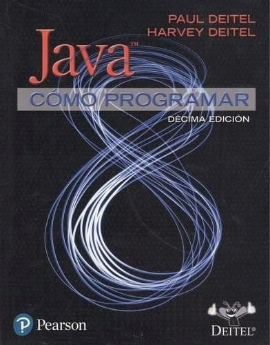 libro java como programar / deitel / pearson