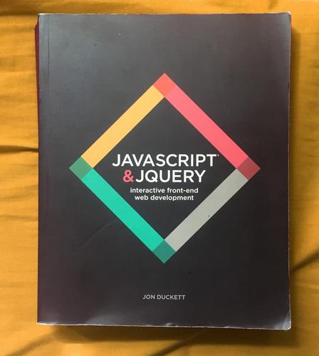 libro javascript & jquery