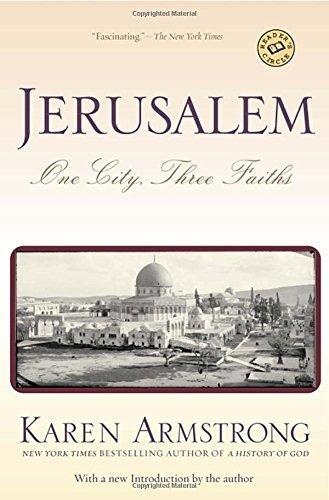 libro jerusalem: one city, three faiths - nuevo