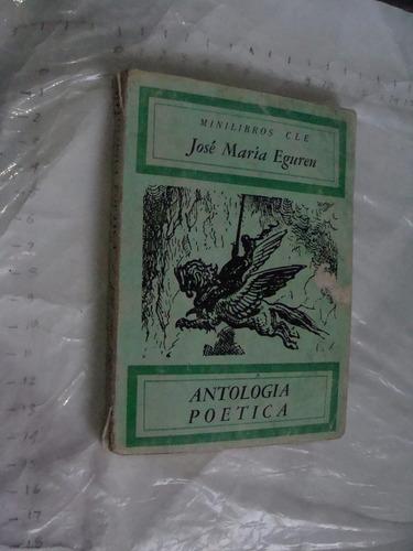 libro jose maria eguren , antologia poetica, 118 paginas , a