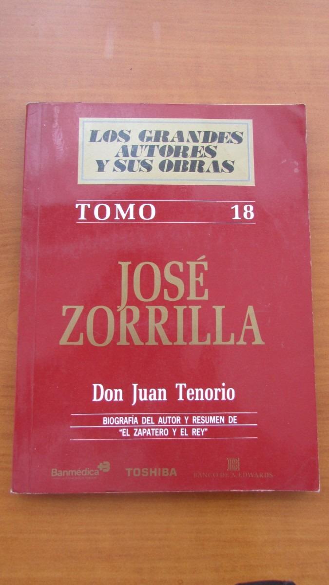 Libro José Zorrilla Don Juan Tenorio - $ 2.500 en Mercado Libre